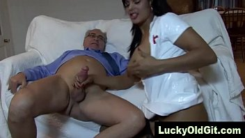 Sexy Russian girl in a black divine outfit decided to pull her March pussy