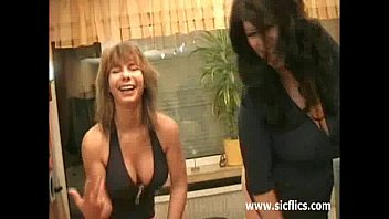 Anal fisting and colossal dildo fucked wife