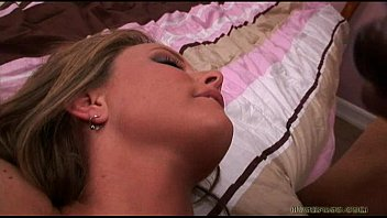Hot Wife Gets TWO NASTY LOADS to the FACE In Her First Threesome