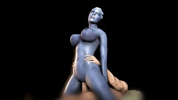 Animation Ashley enjoy anal sex on a black couch [Grand Cupido] ( Mass Effect )