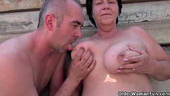 UGLY and OLD - MILF (almost GRANNY) public fuck & no regrets Rubina dates66