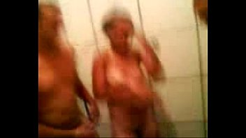 Sex in the bathroom and cum on face. LeoKleo