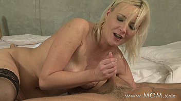 Horny Stud Fucks His Step mom and his Stepsister hardcore