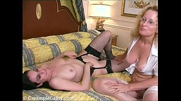 Sexy milf gets fucked in her pussy, ass and mouth in front of beta cuckold