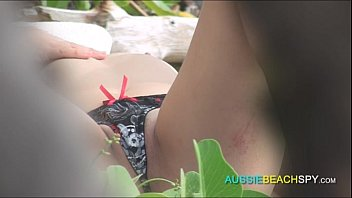 Perfect BodyTanning on the Beach Woken Up by Powerful Wand | O-Surprise POV in Public [HD]